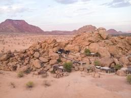 Camp Kipwe, Twyfeltontein Conservancy, Damarland, Namibia | Between Beds